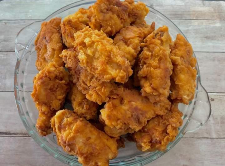 Skrzydełka Hot Wings jak z KFC