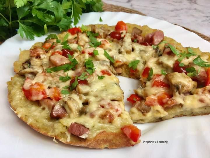 Placek ziemniaczany a'la pizza