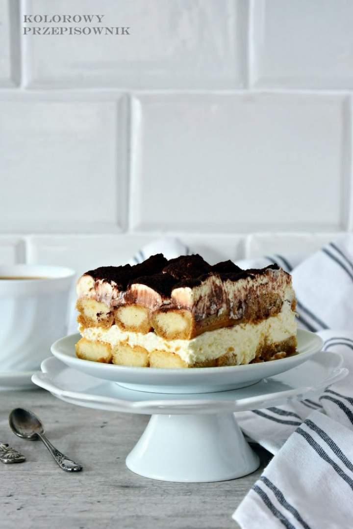 Tiramisu – kawowy deser na zimno (bez jajek)