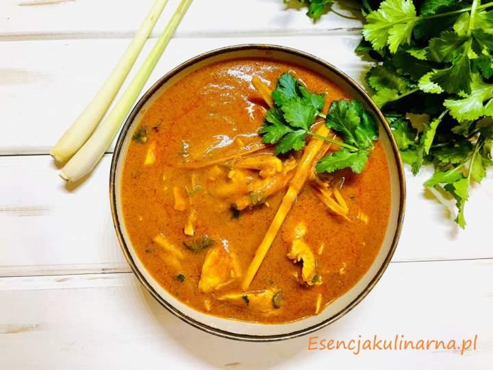 Massaman curry z kurczakiem
