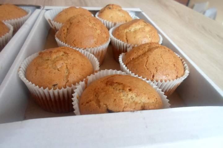 Wegańskie muffiny – Bezglutenowe