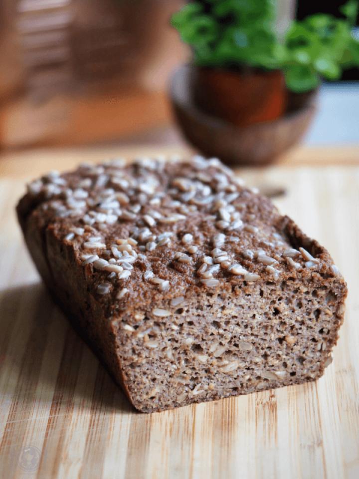 Keto chleb drożdżowy (Paleo, LowCarb)