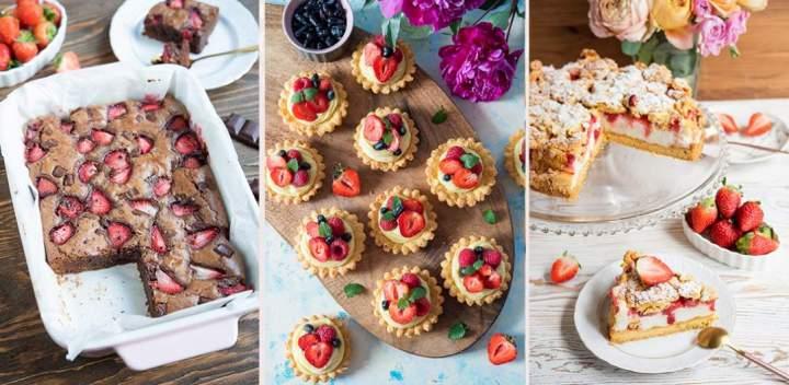 Ciasta z truskawkami – kilkanaście przepisów!