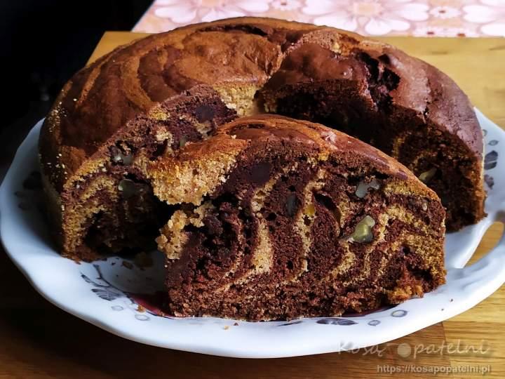 Ciasto dyniowe z czekoladą