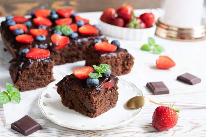 Ciasto wegańskie – czekoladowe!
