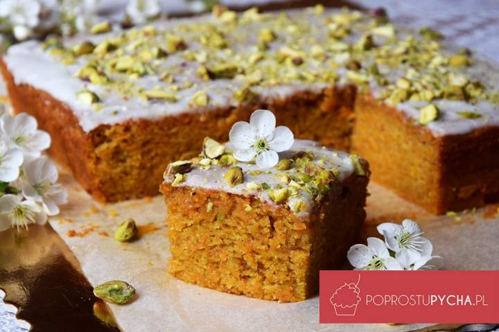 Ciasto marchewkowe przepis