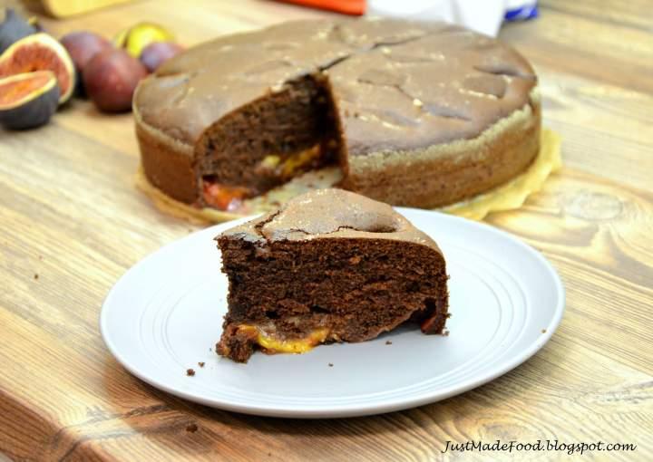 Czeko-śliwka czyli czekoladowe ciasto ze śliwkami