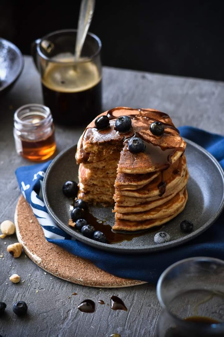 Szybkie pancakes w zdrowszej wersji