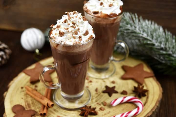Piernikowa gorąca czekolada w5 minut!