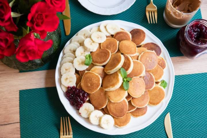 Mini placuszki – pomysł na śniadanie!
