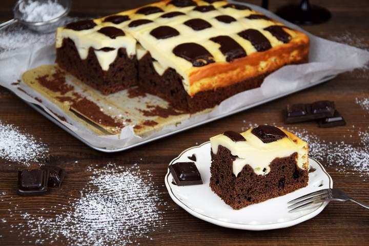 Ciasto czekoladowe poduszkowiec