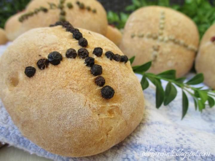 Wielkanocne chlebki do koszyczka