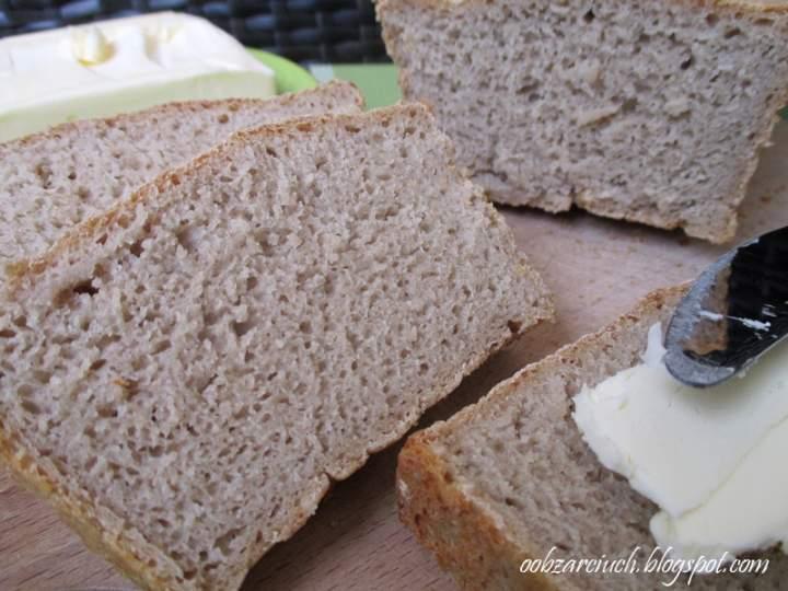 Chleb żytni na drożdżach