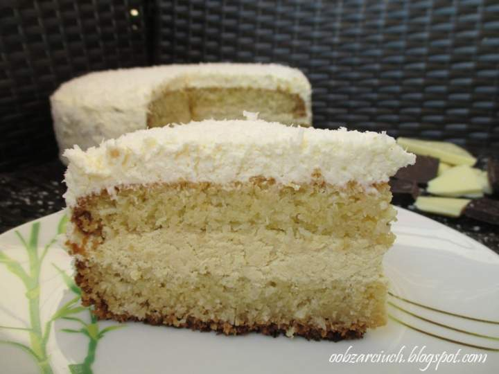 Tort kokosowo-jaglany