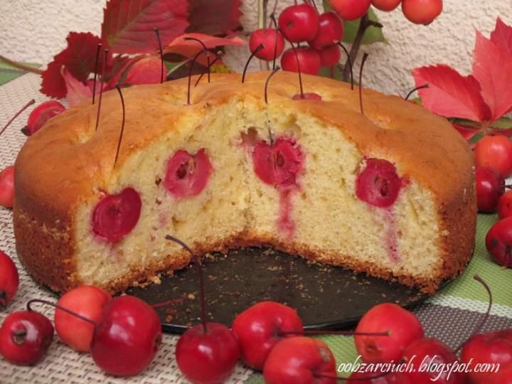 Ciasto z rajskimi jabłuszkami