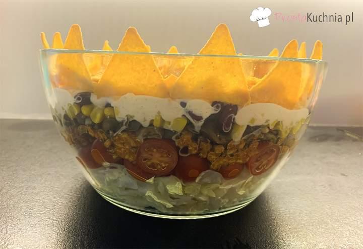 Sałatka z koroną