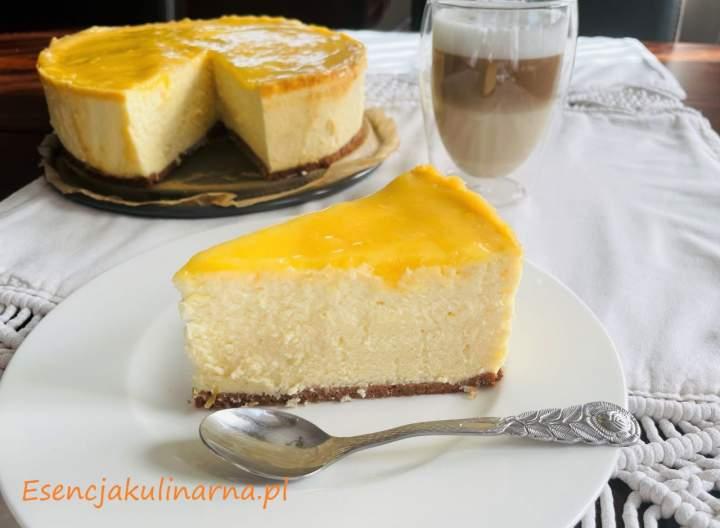 Sernik cytrynowy lemon curd