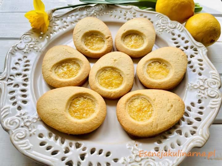 Wielkanocne ciasteczka z lemon curd